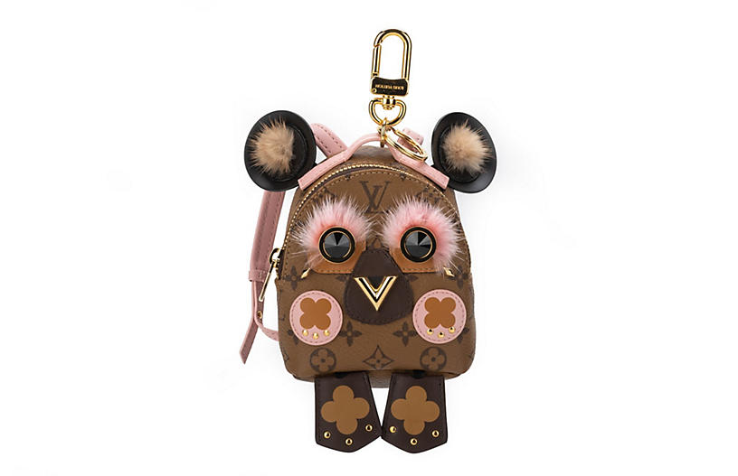 Vuitton Mini Owl Backpack Charm