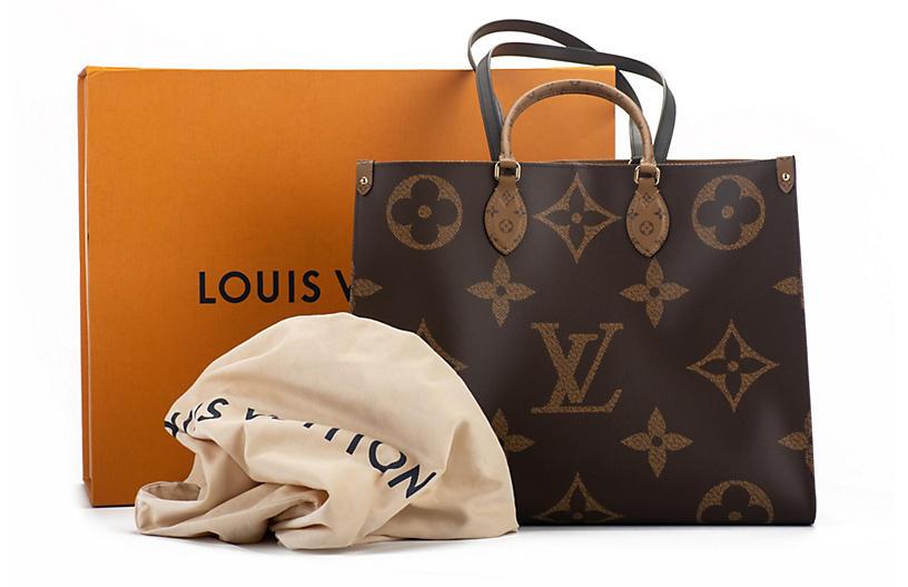Louis Vuitton Monogram On The Go Tote