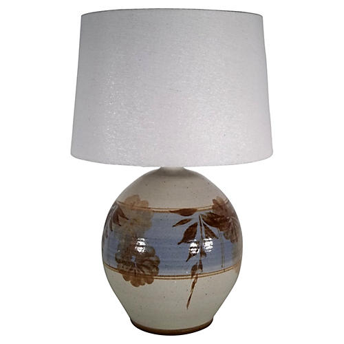 Californita Pottery Lamp