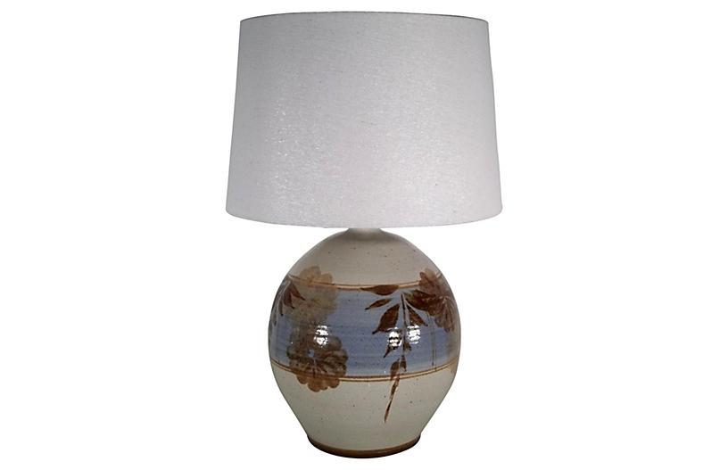 Californita Pottery Lamp