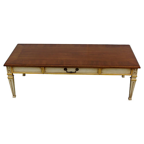 Midcentury Heritage Walnut Coffee Table