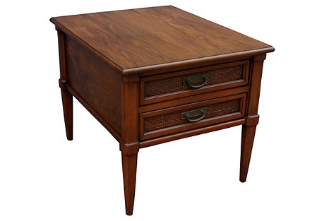Midcentury Walnut Nightstand