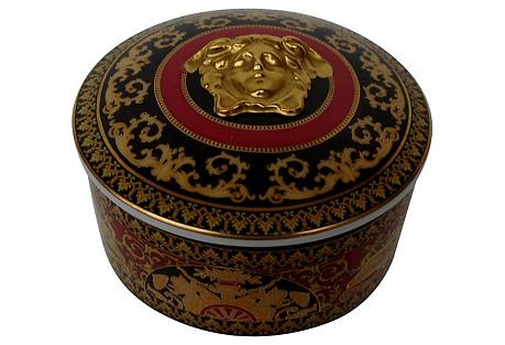 Vintage Versace Trinket Box