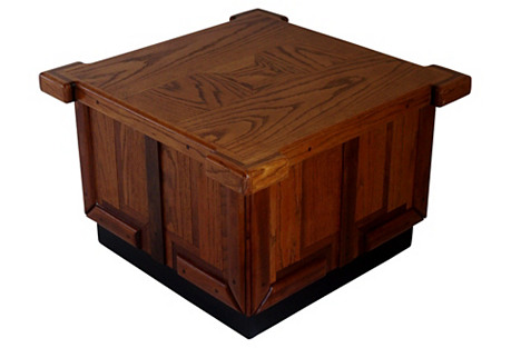 Midcentury Patchwork Coffee Table