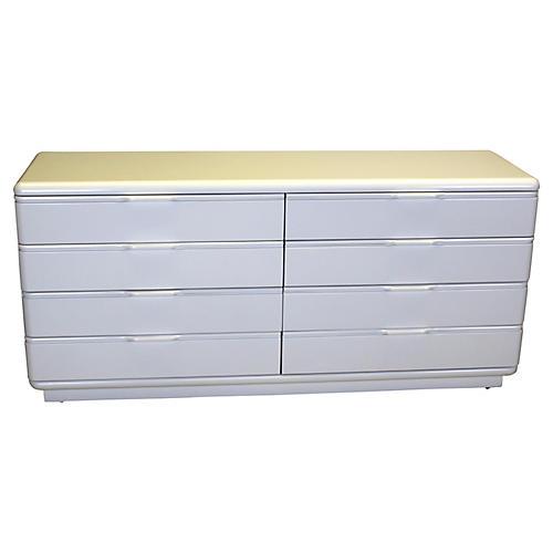 Lane 8-Drawer Lacquered Dresser