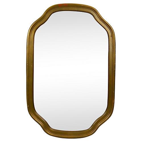 Midcentury Gilded Mirror