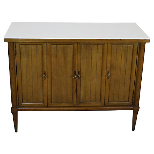Mid Century Walnut Cabinet