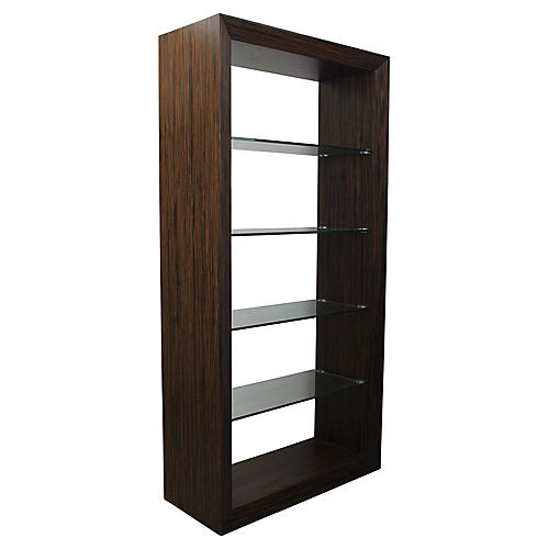 Macassar Shelving Unit