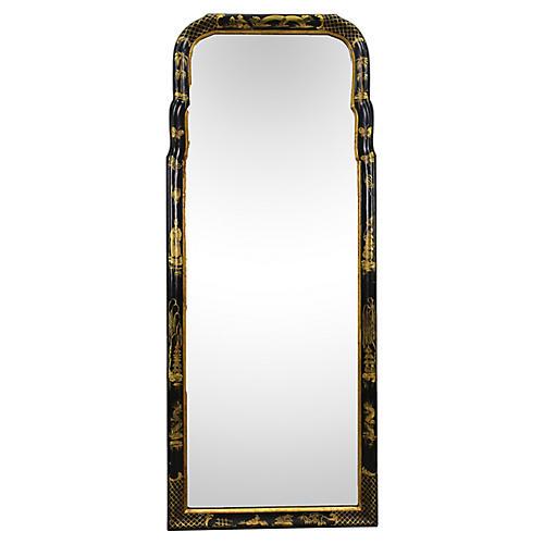 Midcentury Chinoiserie Mirror