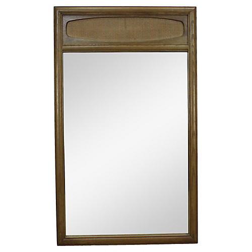 Mid-Century Walnut Mirror