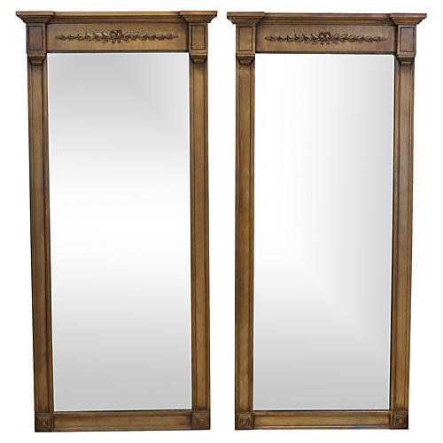 Empire-Style Mirrors, Pair