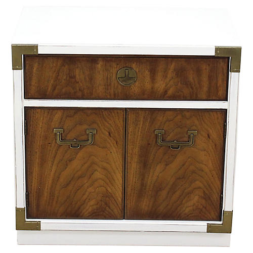 Campaign-Style Nightstand
