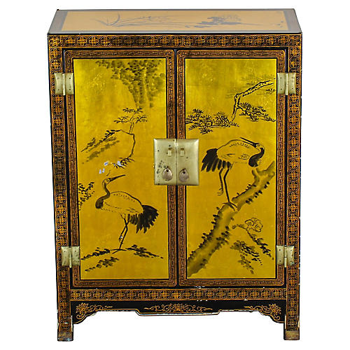 Asian Style Hallway Cabinet
