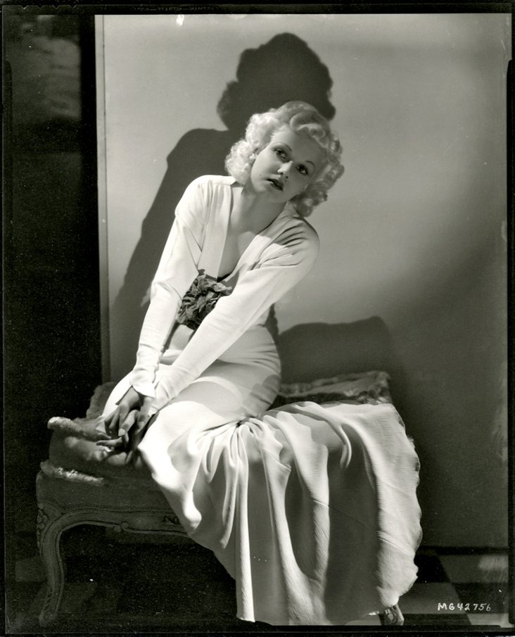 Jean Harlow by George Hurrell, 1934