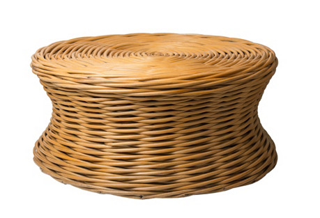 Woven Reed Coffee Table