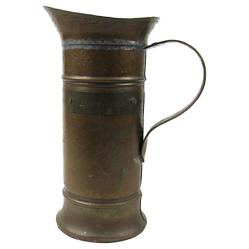 French Urn Litre Tankard