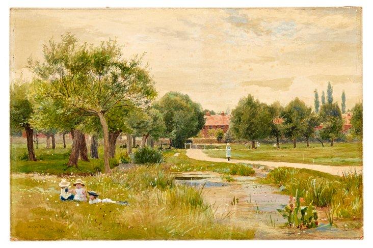 Idyll in English Park