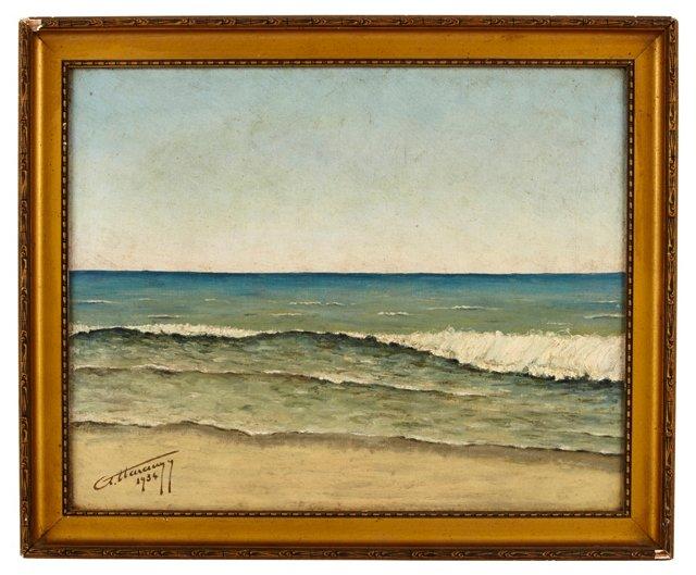Waves Along Shore