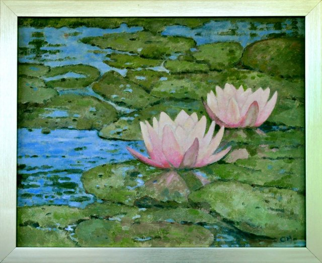 Water Lilies of Giverny