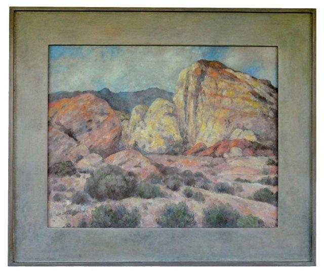 Soft Desert Landscape