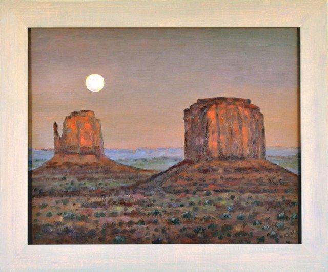 Moonrise Monument Valley
