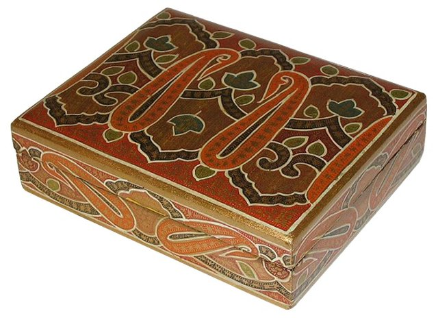Lidded Turkish Box