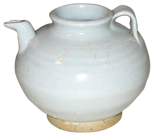 Glazed Chinese Pottery Pitcher