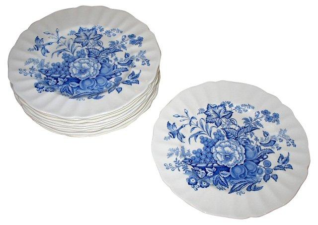 Royal Doulton Dinner Plates, S/10