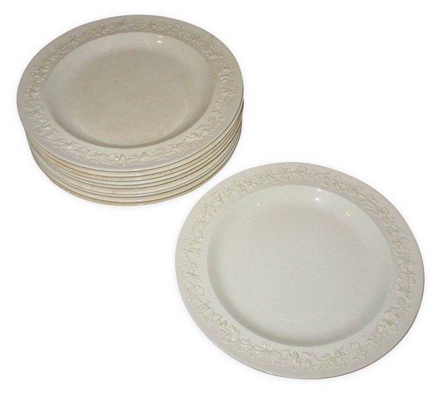 Wedgwood Dessert Plates, S/10
