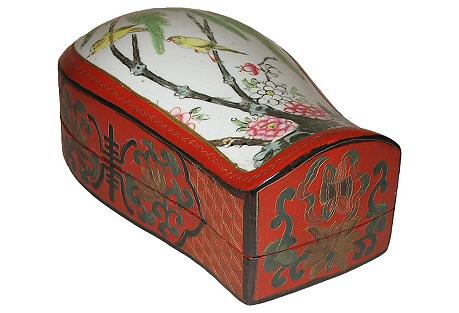 Chinese Lidded Shard Box