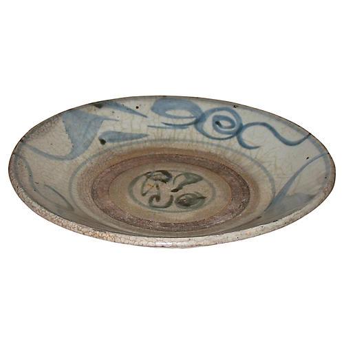Korean Glazed Pottery Bowl