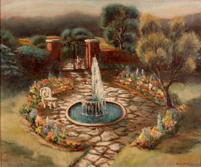 Secret Garden, C. 1950