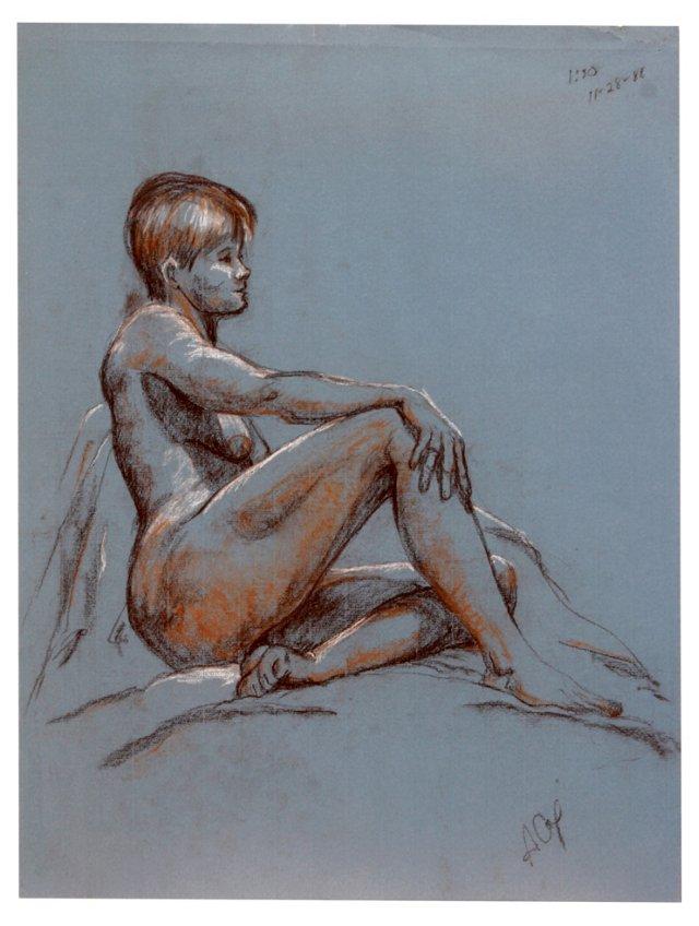 Reclining Nude, 1981