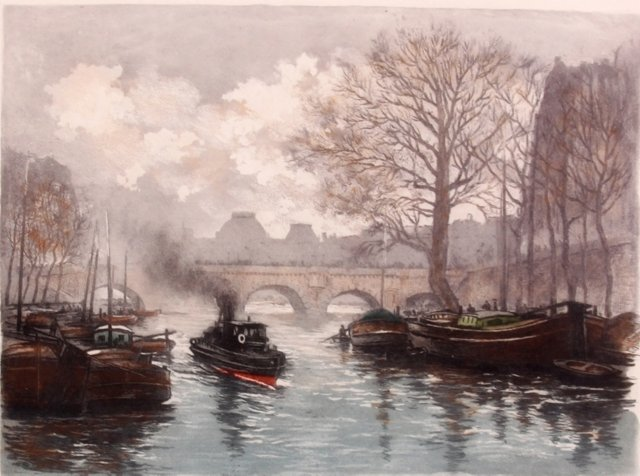 Pont Neuf by Gustave Fraipont