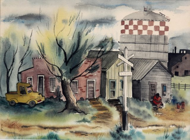 At the Crossroads, 1947