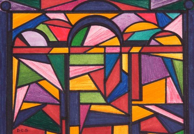 Non-Objective Color by D. Schiller