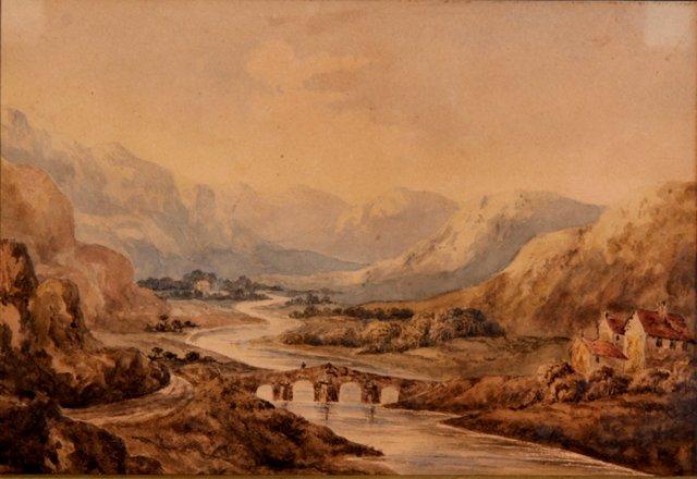 River Valley, C. 1840