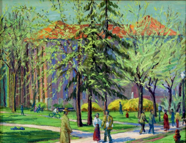 Afternoon in the Park, C. 1940