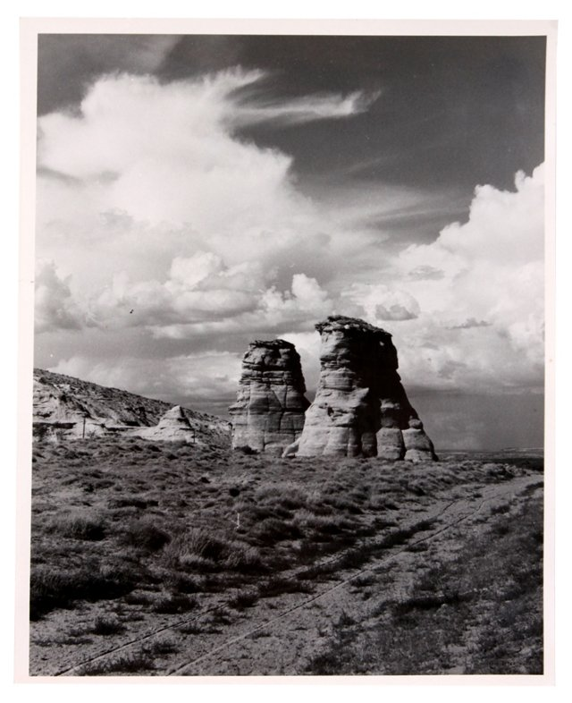 Twin Buttes, C. 1950