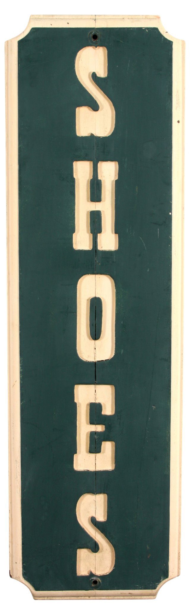 Shoes Sign, 1978