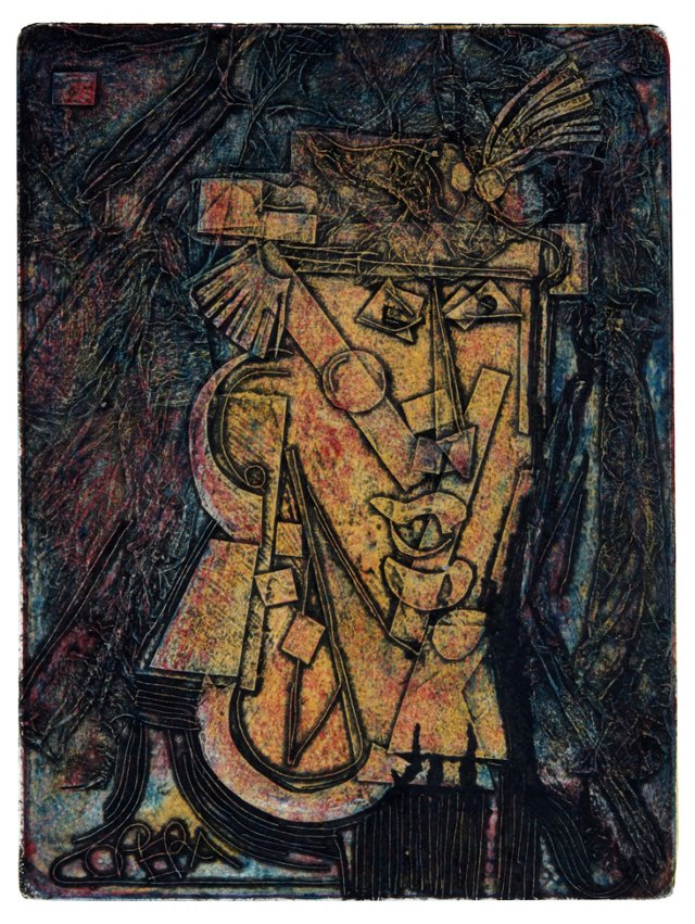 Figure in Abstract,   1976