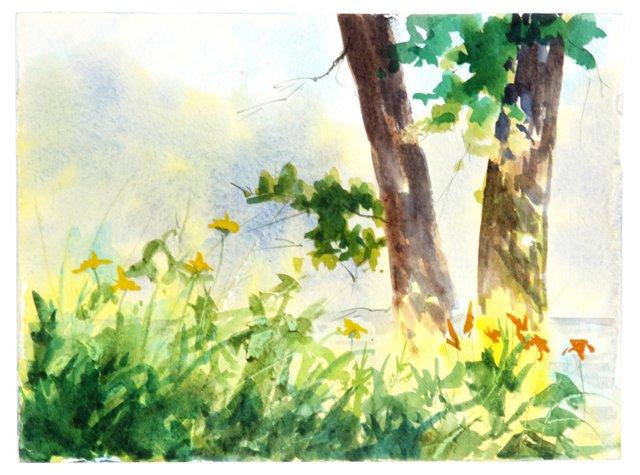 Riverside Wildflowers