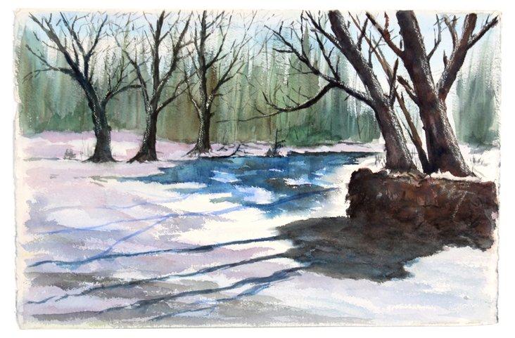Watercolor Winter