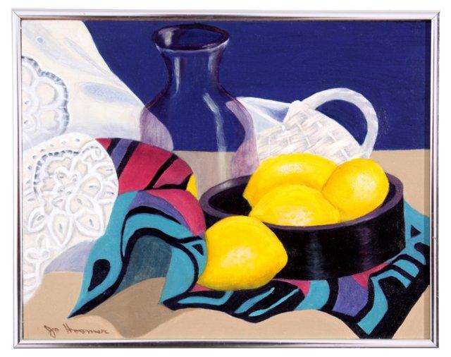 Still Life Lemons, C. 1980