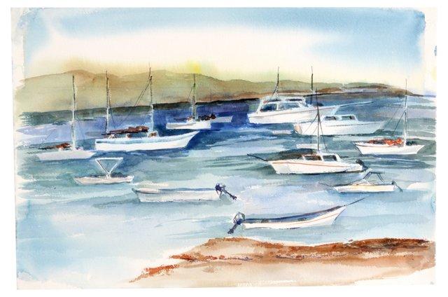 Watercolor Harbor