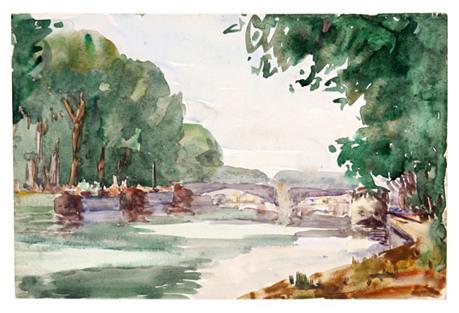 River in France,   C. 1930