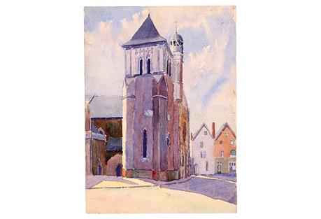 French   Church, C. 1930