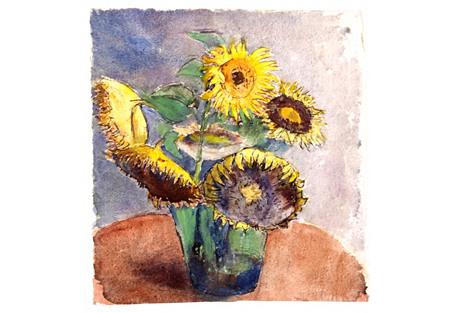 Sunflowers, C. 1930