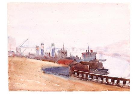Harbor Mist, C. 1930
