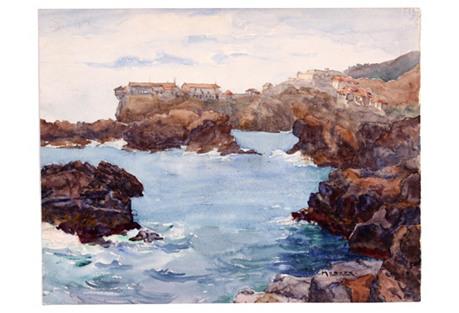 French Coast, C.   1930